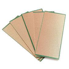 5x Strip Veroboard Uncut PCB Platine Single Side Circuit Board Electrical Parts