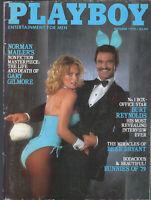 PLAYBOY October 1979-Bunnies of 1979,Burt Reynolds Intvw, Gary Gilmore by Mailer