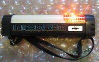 Virginia Slims Ultra Lights Vintage 1980s Hazard flashing Flashlight camping