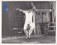 Gene Kelly rehearses through a problem VINTAGE Photo Summer Stock candid on set