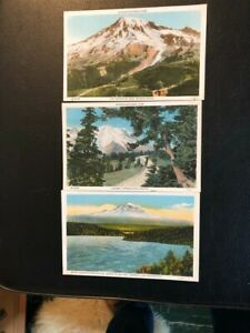 7 post cards from Mount Rainier National Park
