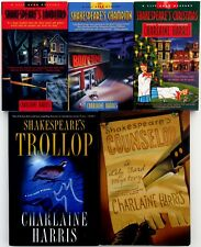 Charlaine Harris - Complete Lily Bard Shakespeare Series Lot of 5, All BRAND NEW