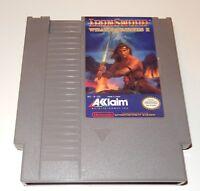 IronSword: Wizards & Warriors II (Nintendo Entertainment System, 1989) NES