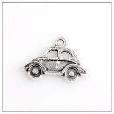 30pcs Car Tibetan Silver Charms Pendants Jewelry Making Findings EIF0238