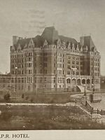 Vintage Postcard, 1908 The Empress C.P.R. Hotel  Victoria B.C. Vintage P40