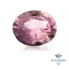 1.02 ct. Oval Natural Pink Sapphire ~ 7 x 6 mm
