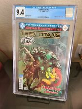 Teen Titans #12 CGC 9.4 White pgs. Batman Who Laughs