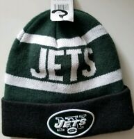 NFL NEW YORK JETS Mens Cuffed knit hat Tobaggan Beanie