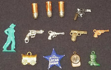 1950's - GUM BALL - VENDING MACHINE - TOY CHARMS (13) - ORIGINAL