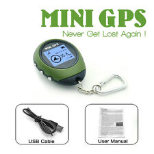 1.4'' Useful Mini GPS Navigation Travel Camping Outdoor Sports Travel Reciever