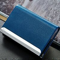 Aluminum Pocket ID Credit Card Holder Wallet Metal Blocking Business Case Box