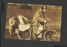 Nostalgia Postcard  German Engineer Richter with his Rocket Driven Bicycle 1931