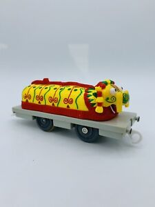 Thomas & Friends Chinese Dragon Carriages TOMY Trackmaster Lights Up Working Cwr