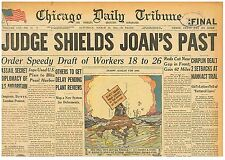Chaplin Dealt 2 Setbacks at Mann Act Trial, Joan Berry March 22 1944 B1
