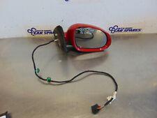 VW Golf Mk5 5 Door 04-08 Drivers Right Electric Door Wing Mirror Red LA3H 6 pin