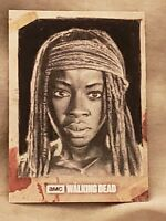 THE WALKING DEAD SEASON 8 MICHONNE SKETCH CARD #1/1 TREVOR ANDERSON ARTIST