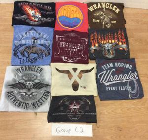 Wrangler®Short Sleeve Front Screenprinted T-Shirt (group C2)