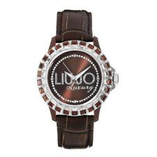 Orologio LIU JO LUXURY mod. BAGUETTE ref. TLJ162 Donna marrone con baguette