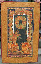 Fall Green Door Timeless Treasures  Quilt  32x50