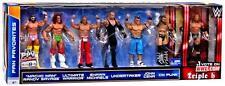 WWE FIGURE SET 7 CM PUNK CENA TRIPLE UNDERTAKER WARRIOR HBK SAVAGE FAN FAVORITES