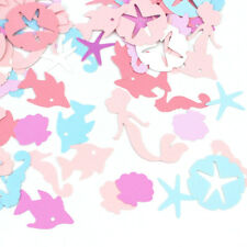 Ocean Mermaid Seahorse Starfish Paper Decor Wedding Table Confetti Hot