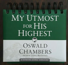 My Utmost For His Highest Perpetual Calendar New Oswald Chambers Dayspring