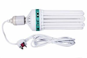 300w 200w 45w CFL Dual Spectrum Grow & Flower Lamp Bulb + E40 Light Pendant