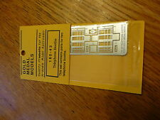 Gold Medal Models N #16043 Telephone Booths -- Kits   (N Scale) 1:160th Scale