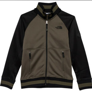 $65 New The North Face Takeback Track Jacket Boys Zip Outdoor LARGE 14/16 #34