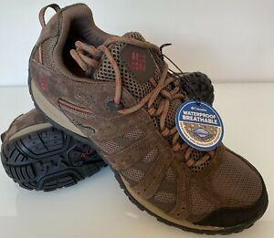 Columbia Men's Redcrest Waterproof Hiking, Walking, Trainers, Shoes, UK 8 to 9