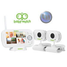 "UNIDEN 4.3"" LCD Baby Watch Wireless Monitor - 2 Cameras - Walkie Talkie Function"