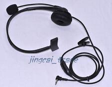 Overhead Headphone Headset for Yaesu Vertex Radio VX-160 VX-3R FT-60R w boom mic