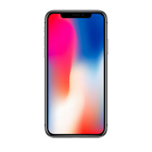 Apple iPhone X - 64GB - Black (Unlocked)