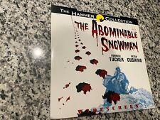 The Abominable Snowman Laserdisc 1957 Hammer Widescreen Sci-Fi Horror Classic