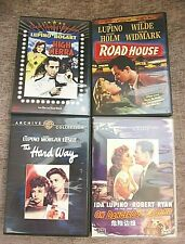 4 x IDA LUPINO  FILMS ON DVD