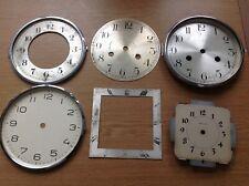 Antique Clock Dials Faces Bezels Ex Clockmakers Spare Parts