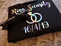 Crazy offer !! Ring security box , ring pillow alternative , wedding box