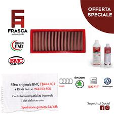 Filtro Aria Sportivo BMC Originale FB444/01 + KIT Pulizia WA250-500
