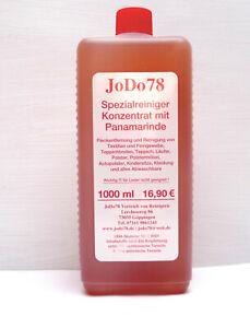 1 L JoDo78 Reinigungskonzentrat mit Panamarinde zur Teppich, Polsterreinigung