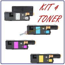 4 TONER COMPATIBILE PER XEROX PHASER 6000 6010 Work Center 6510 V_N V_B V_NI