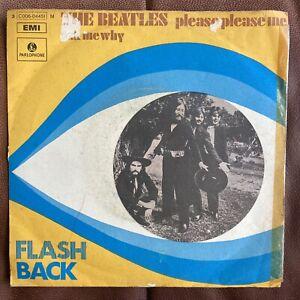 "The Beatles Please Please Me Flash Back 7"" Single Seltene Rarität Italy Pressung"
