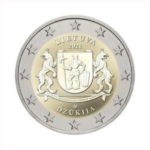 2 Euros Commémorative Lituanie 2021 Dzukija 27264 - UNC