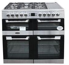 Leisure Range Cooker CS100F520X Cuisinemaster 100cm Dual Fuel 3 Ovens #2013