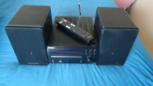 Denon CD Receiver RCD-M39DAB with Cambridge Audio S Series stereo speakers