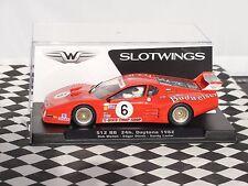 SLOTWINGS Ferrari 512 BB 24H Daytona 1982 #6 W50101 1:32 Nuevo y en caja más recientes
