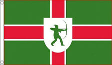5' x 3' Nottinghamshire Flag Robin Hood of Nottingham English County Banner