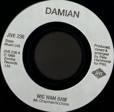 "DAMIAN wig wam bam 7"" WS EX/ made in france jive JIVE 236"