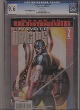 ULTIMATE ORIGINS #2 CGC 9.6