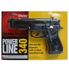 Daisy Powerline 340 Air Pistol Spring 200-Shot BB Repeater Outdoor BB GUN .177