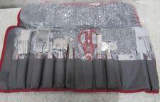 Wolfgang Puck 12pc Elite Prep & Garnish Set with Storage Case in Red